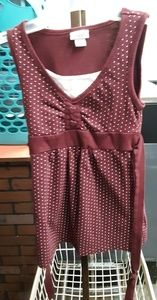 Justice tank top - size 6